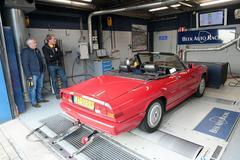 Alfa Romeo Spider 2.0 - Op de Rollenbank