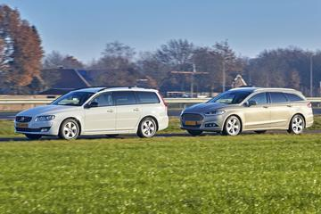 Ford Mondeo Wagon 2.0 TDCI - Volvo V70 D3 Dynamic Edition – Occasiondubbeltest