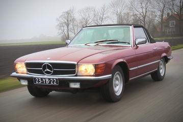 AutoWeek Allstars 2016 - Deel 2 - Mercedes-Benz SL 1977