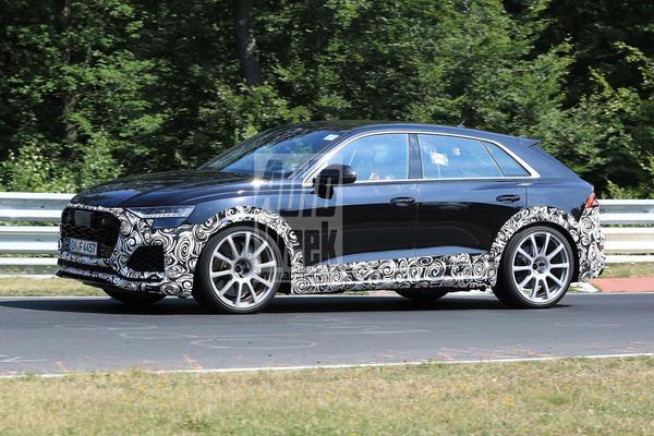 Video: Audi RS Q8 - Spionage