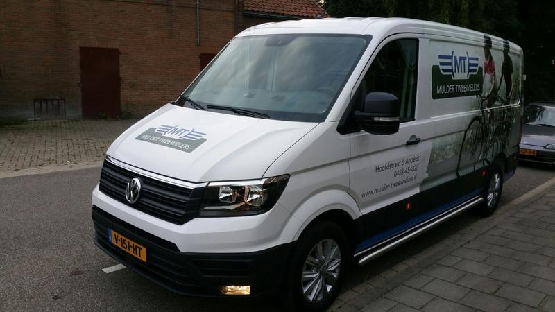 Volkswagen Crafter Bestelwagen 140PK (2017)