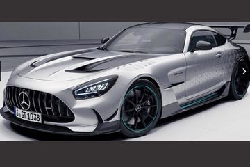 Speciale Mercedes-AMG GT Black Series in F1-kleuren