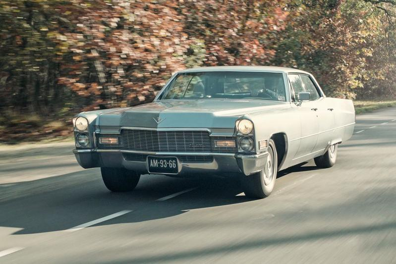 Klokje Rond Klassiek - Cadillac Sedan DeVille (1968)