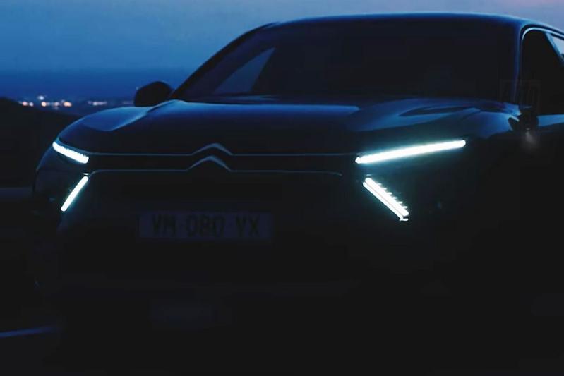 Citroën C5 teaser