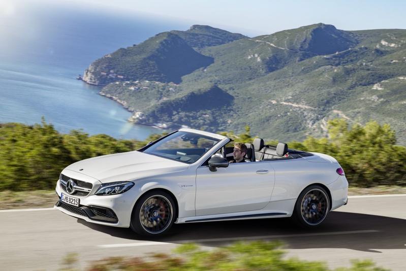 Mercedes-AMG C 63 Cabrio breekt los