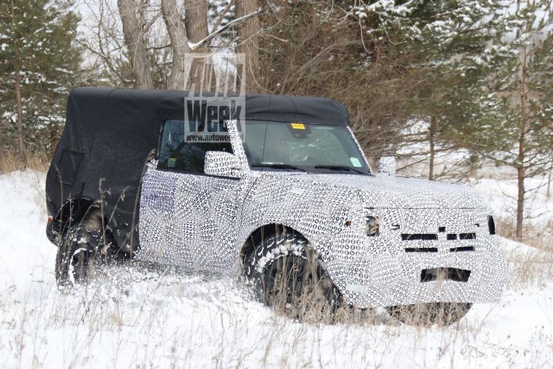 Spyshots Ford Bronco