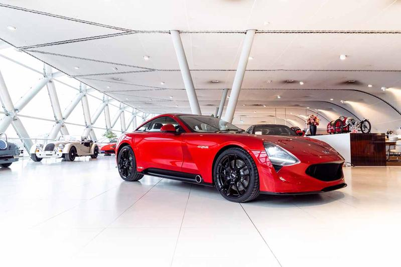 TVR Griffith pre-production