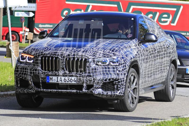 BMW X6 in beeld