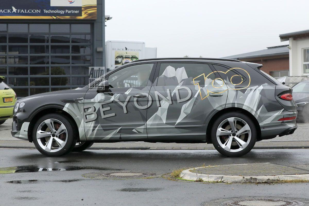 Spyshots Bentley Bentayga LWB