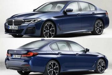Gefacelifte BMW 5-serie laat zich zien