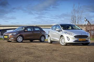 Hyundai i20 T-GDI Comfort - Ford Fiesta 1.0 Titanium - Dubbeltest