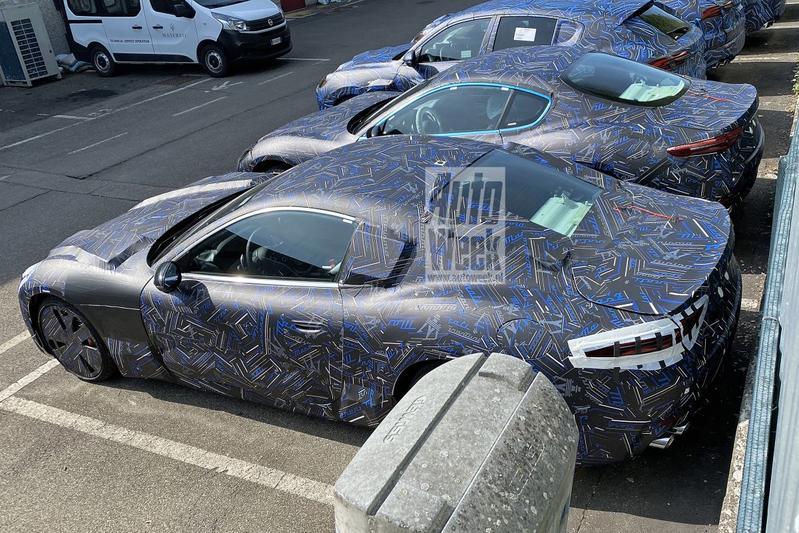 Nieuwe Maserati GranTurismo nu ook van achteren te zien