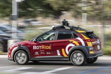 Hyundai start autonome taxidienst in Californië