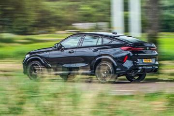BMW X6 M Competition - rij-impressie