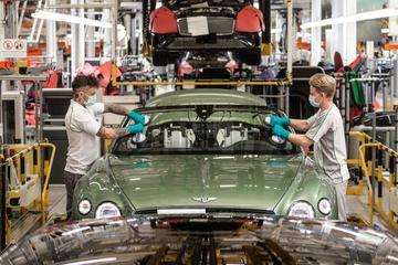 Bentley opent 11 mei fabrieken weer