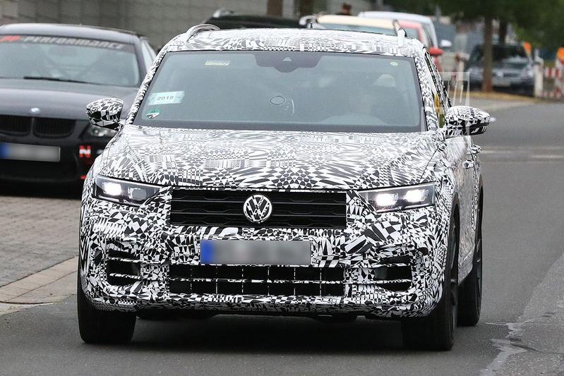 Gesnapt: Volkswagen T-Roc 'R'
