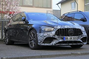 Gefacelifte Mercedes-AMG E63 verstopt zich nog even