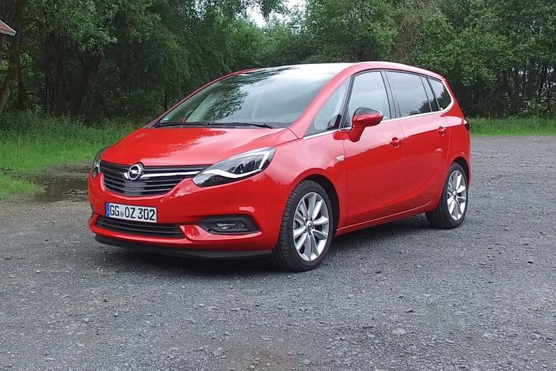 Opel Zafira - Rij-impressie