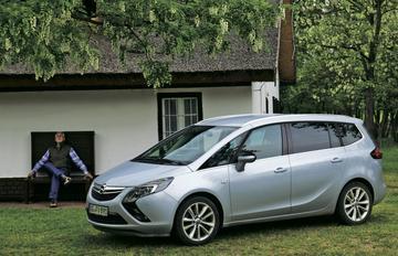 Dieselmotoren Opel Zafira goedgekeurd