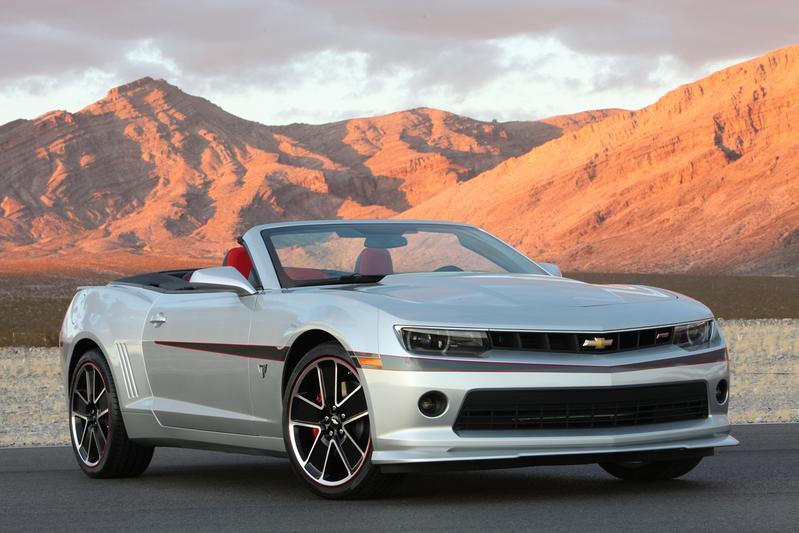 Uitzwaaiversie voor Chevrolet Camaro
