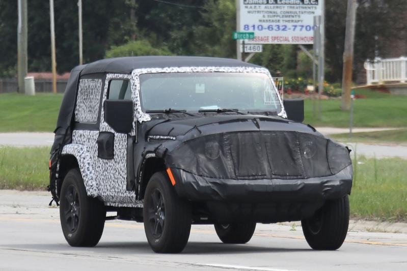 Jeep Wrangler opnieuw in beeld