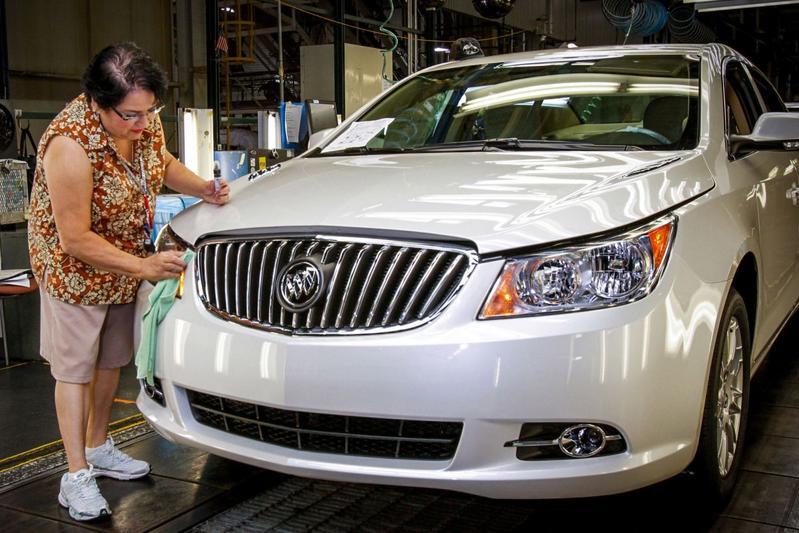 GM fabriek productie USA VS Amerika