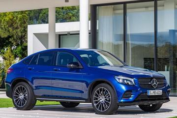 Mercedes trekt doek van GLC Coupé