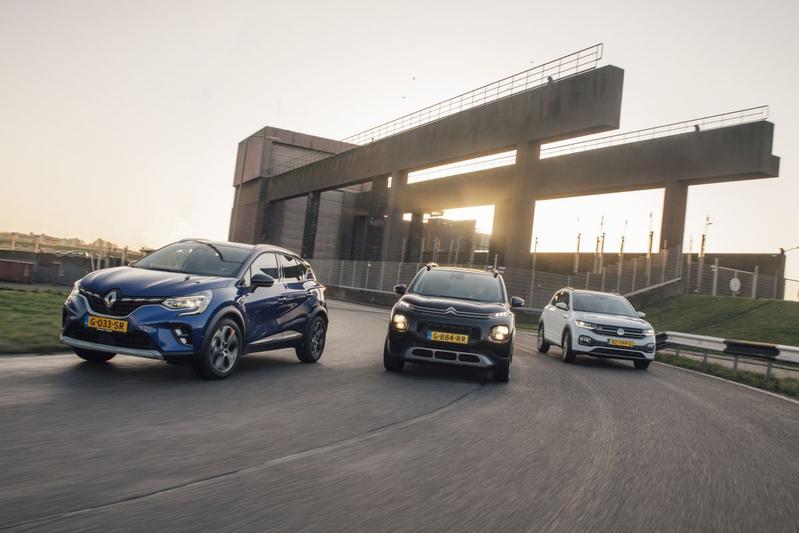 Renault Captur– Citroën C3 Aircross – Volkswagen T-Cross - Triotest