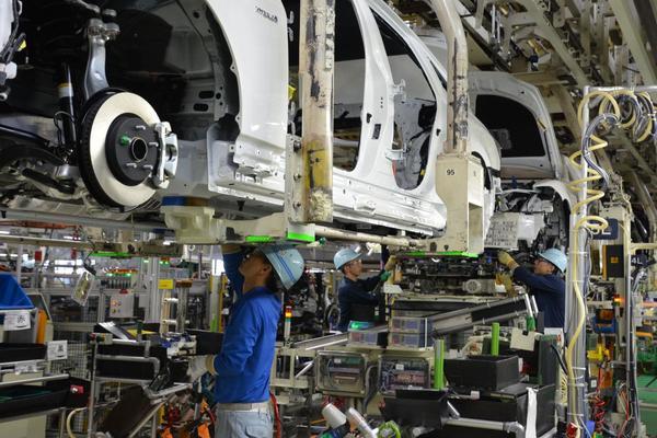 Toyota hervat productie na aardbeving Japan