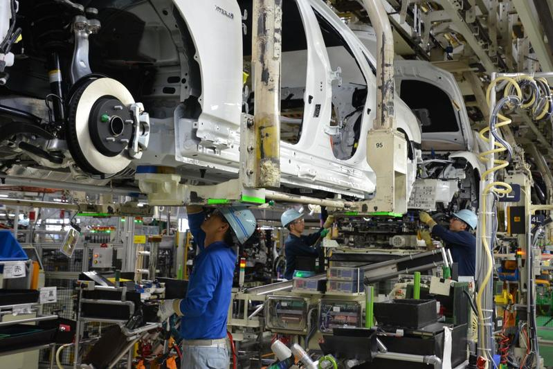 Toyota Motomachi productie fabriek