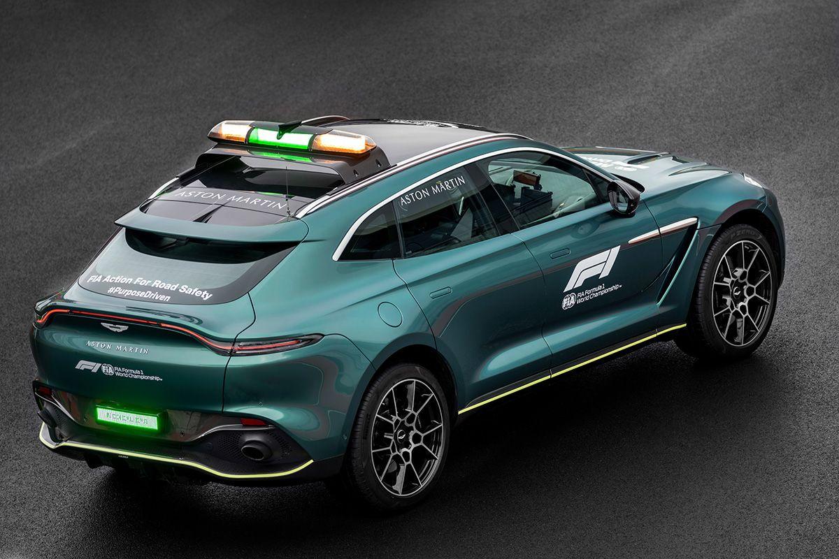 Aston Martin Vantage en DBX Safety Car Medical Car