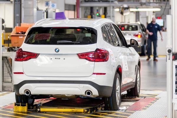 BMW fabriek Spartanburg VS South Carolina