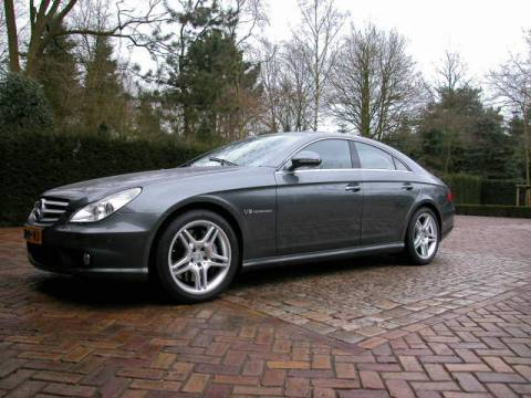 Mercedes benz cls 55 amg 2005 for 2005 mercedes benz ml350 review