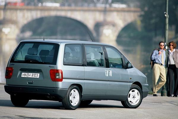 De Tweeling: Fiat Ulysse, Lancia Zeta, Peugeot 806, Citroën Evasion