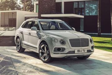 Bentley Bentayga plug-in Hybrid lekt uit