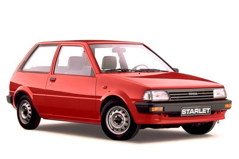 Toyota Starlet 1.0 XL (1989)