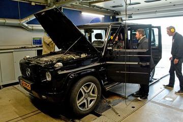 Mercedes G55 AMG (2008) - Op de Rollenbank