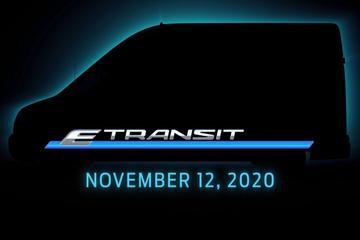 Elektrische Ford E-Transit komt eraan