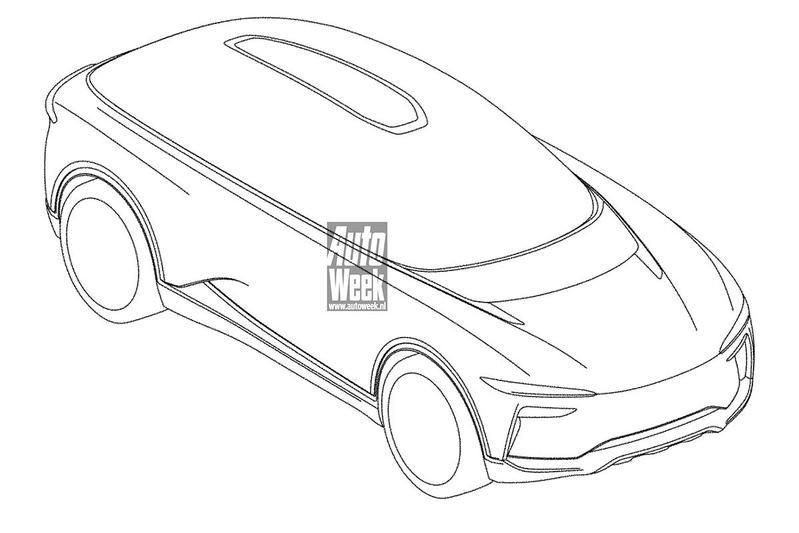 Automobili Pininfarina Pura Vision patent