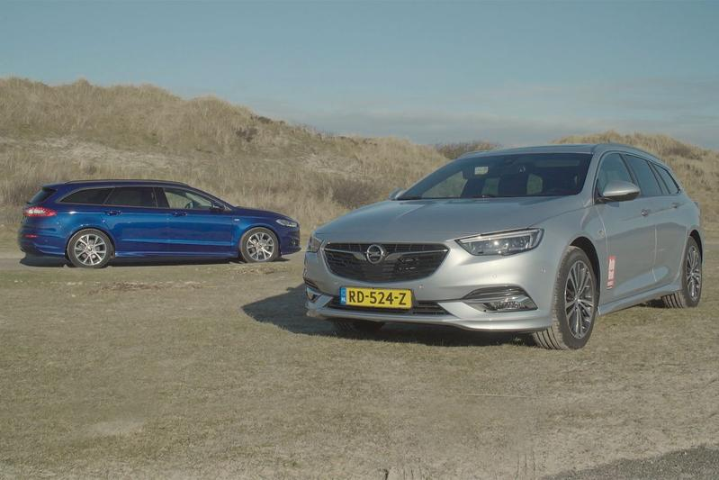 Ford Mondeo Wagon vs. Opel Insignia ST - Dubbeltest
