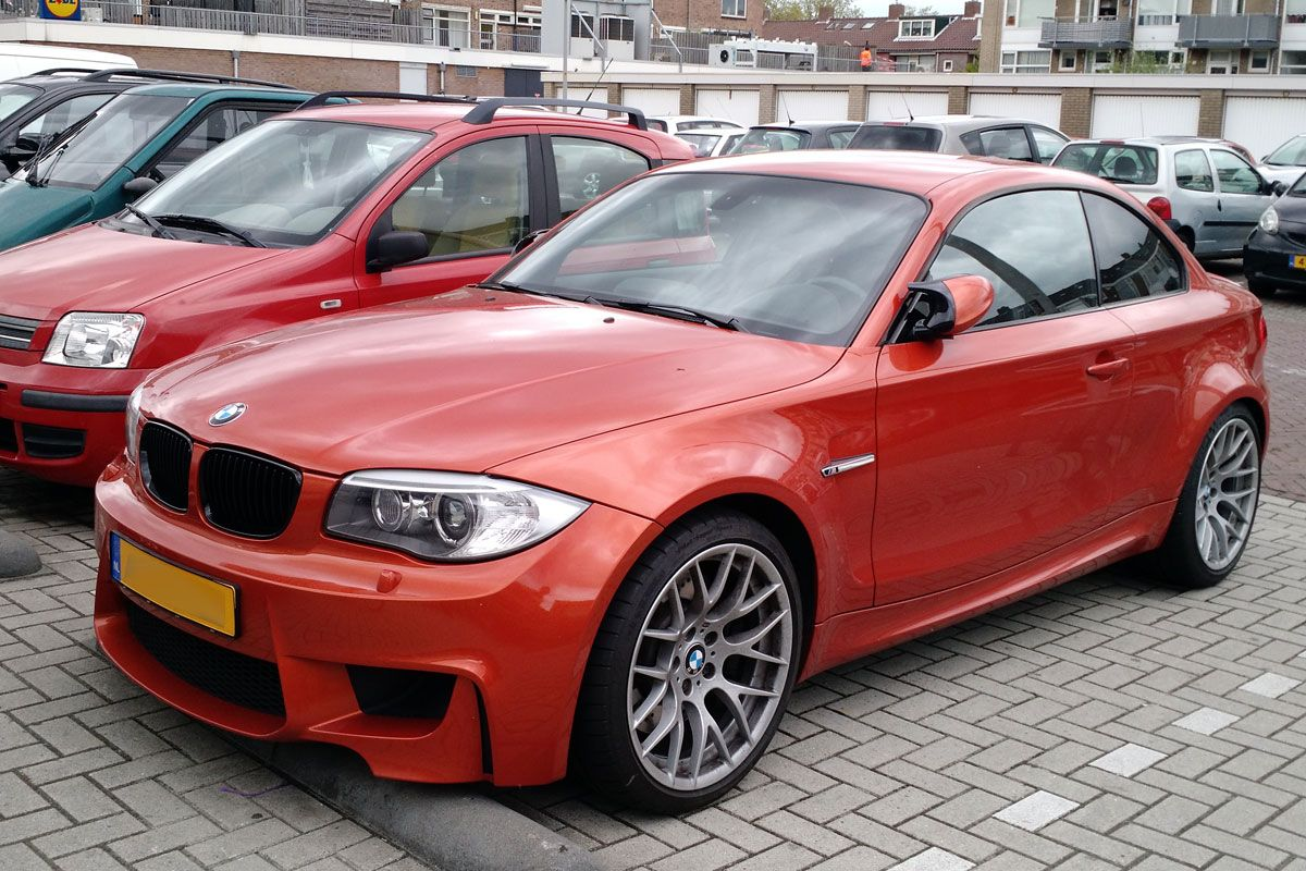 in het wild bmw 1m coup. Black Bedroom Furniture Sets. Home Design Ideas