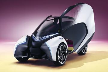 Toyota i-TRIL Concept: opvallend vervoer