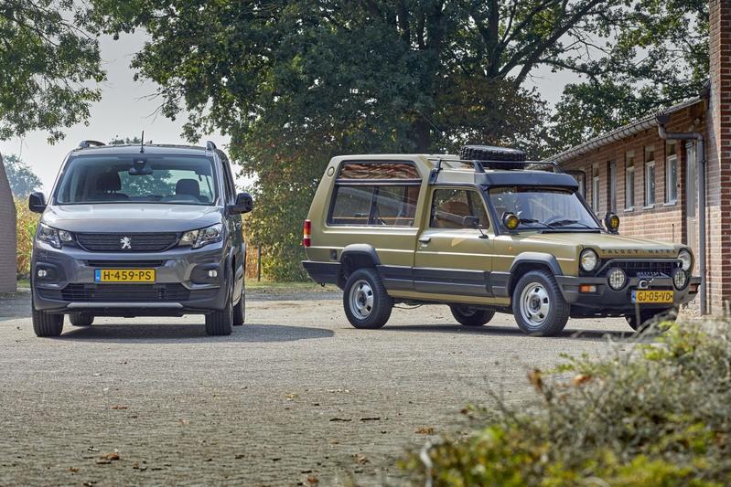 Peugeot Rifter en Talbot-Matra Rancho - Reportage