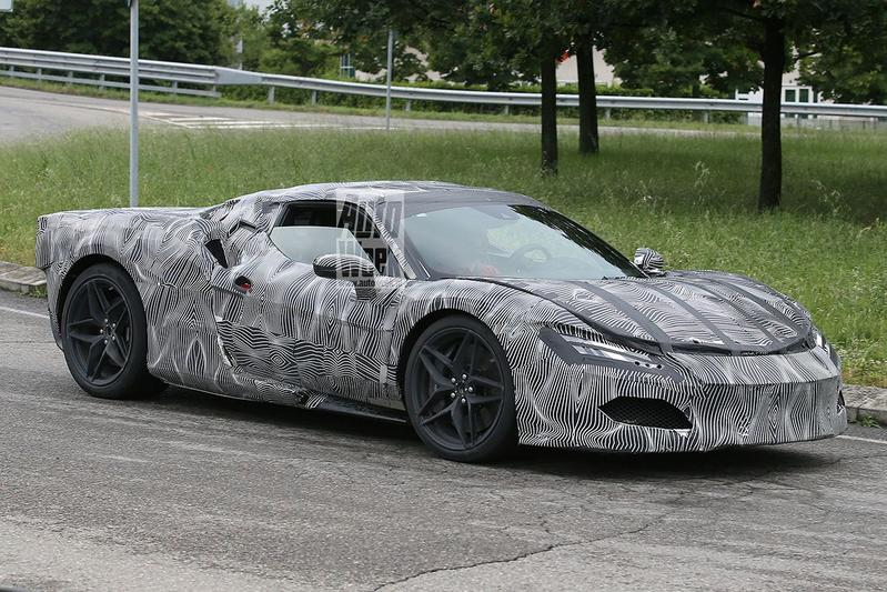 Ferrari spyshots Dino