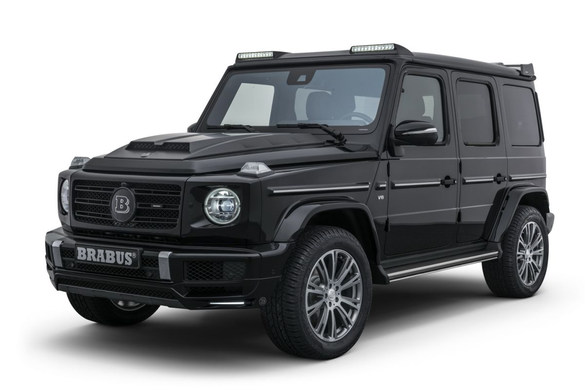brabus doet nieuwe mercedes benz g klasse. Black Bedroom Furniture Sets. Home Design Ideas