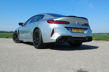 BMW M8 Competition Gran Coupé - Achteruitkijkspiegel