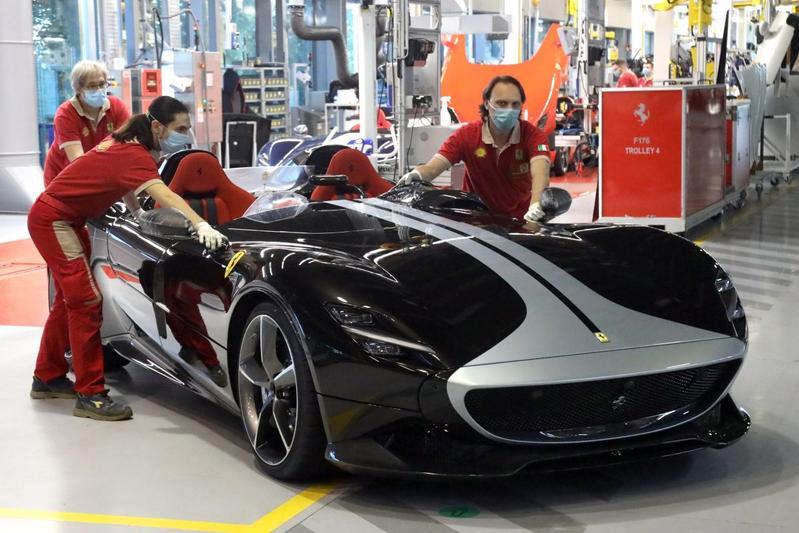 Ferrari productie fabriek Maranello Modena