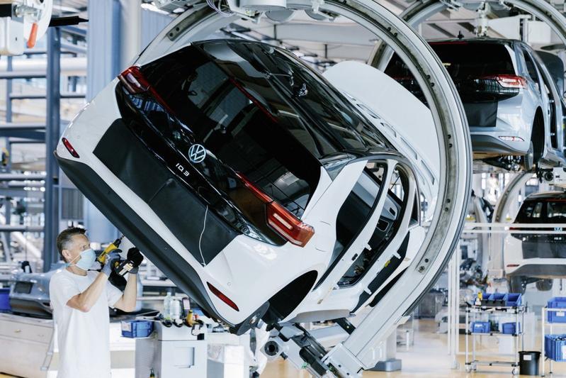 Volkswagen ID3 EV productie Dresden