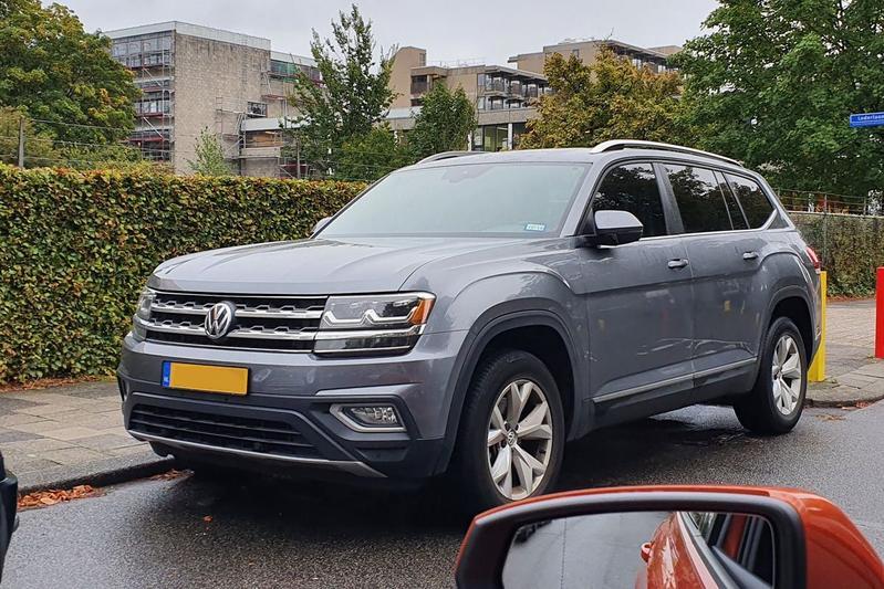 In het Wild: Volkswagen Atlas