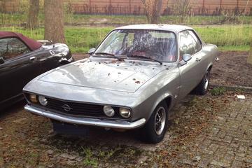 In het wild: Opel Manta A